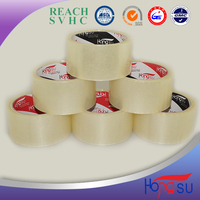 Adhesive tape BOPP film and water-based acrylic