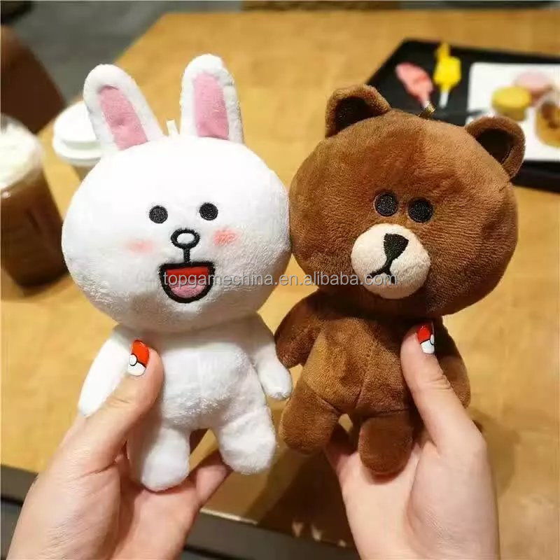 "New Winter Cute Doll Phone Case Cover For iPhone 6 6s 4.7"" 3D Bear Toy Plush Cover Coque Fundas"