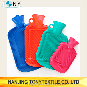 nature rubber hot water bag in hot water bag