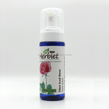 Tibet Iced Rose Facial wash Mousse for skin care