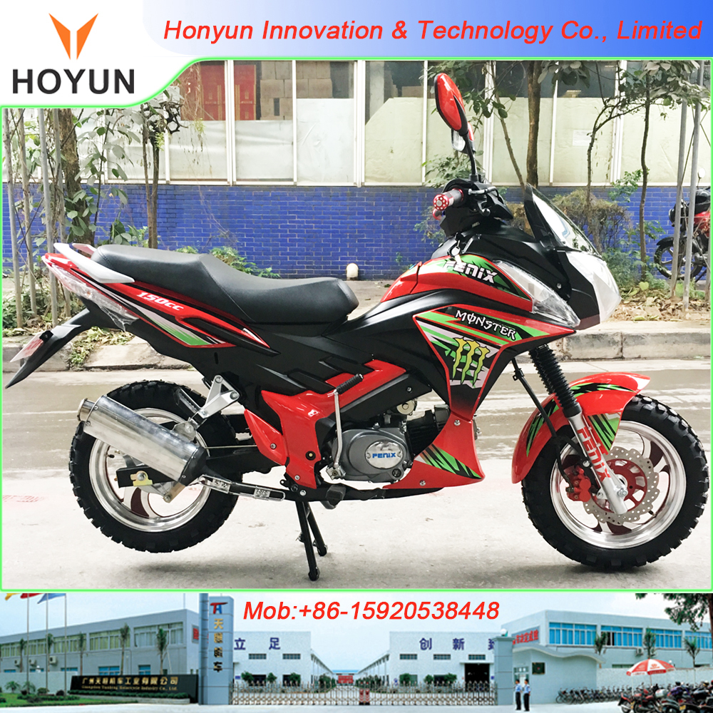 Hot sale in Bolivia Peru Haiti Togo Benin Ghana Congo Uganda Sudan made in China FENIX FX150-V RED motorcycles