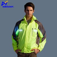 Outdoor LED Warning Safety Winter Mens Jogging Suits Wholesale