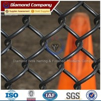Low price Diamond Wire Mesh Fencing/Diamond Chain Link Fencing