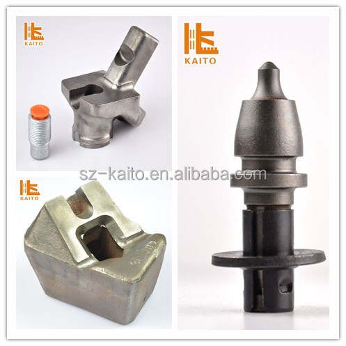 Wirtgen cutting tool milling machine /construction bored piling equipment conical cuttting spare parts
