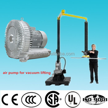 vortex vacuum pump for vacuum lifting system