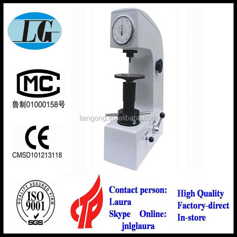 HR series steel surface rockwell hardness tester price