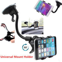 Factory Wholesale Flexible Long Arms Windshield Sucker Car Cellphone Holder