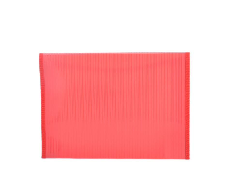 Custom a2 japanese red plastic file folder