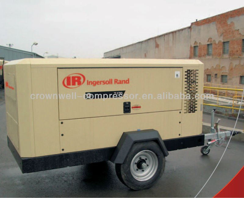 Ingersoll Rand Portable Air Compressor Doosan Portable Air Compressor 55 - 11,600 cfm