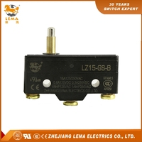 LZ15--GS-B normally open lever latching solder terminal micro switch