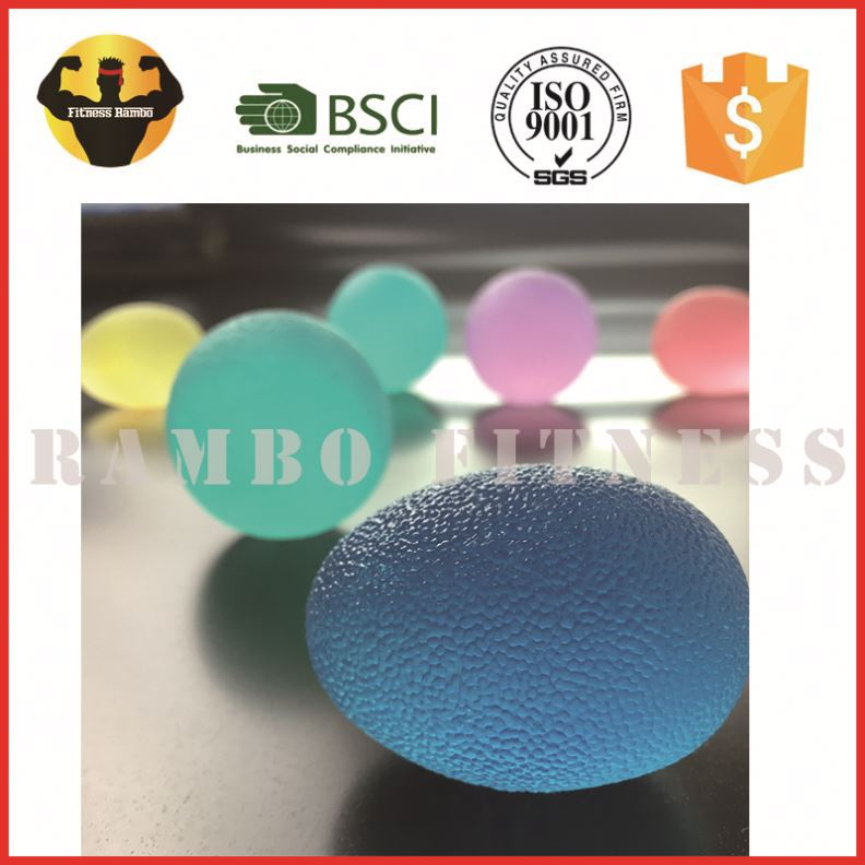 Chinese Soft Tpr Fingers Silicone Hot Sale Exercise Hand Grip The Ball