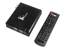 New Arrival !! Amlogic S905 Android TV box HD Android DVB S2+DVB T2 Combo tv box k1 plus