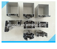 Aluminum office partition system multifunction in use