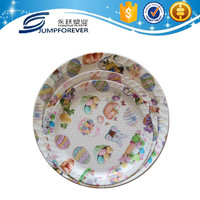 2016 New design Round cheap reusable pp plastic dinnerware wholesale