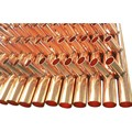 copper manifold for floor heating system