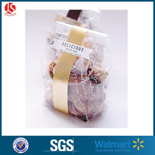 high quality clear plastic pp / opp packing bread bags