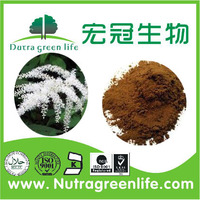 Black cohosh extract 2.5% Triterpenoid saponins Black Snakeroot Extract Black cohosh extract/P.E powder 10:1