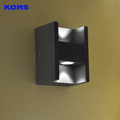 New products waterproof Aluminum outdoor wall lamp led up down wall lighting from jiangmen kors