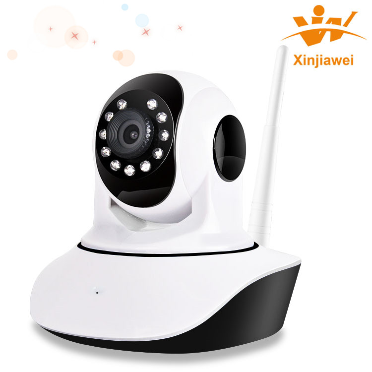 Quick Zoom 720P Megapixel Wifi Wireless PT IR Network IP Camera For Indoor Surveillance