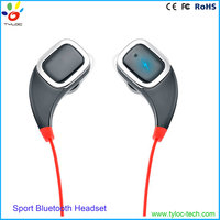 Hifi sport stereo headphone in ear wireless bluetooth mini headset for cellphone and Mp3
