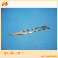 CE ISO marked/ approved Sterilized Sharp Point surgical knife blade