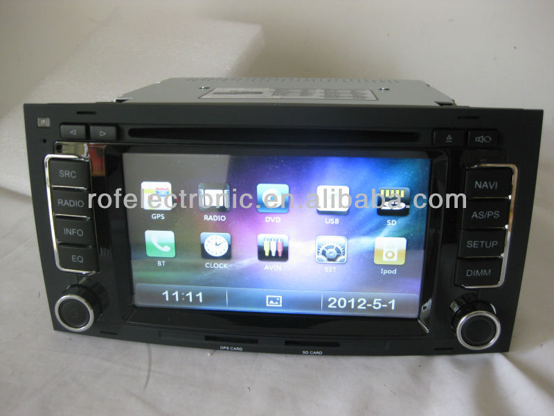 2din car gps navigation ROF-1102HD-1 special For VW touareg/Multivan( 2002-2010 )