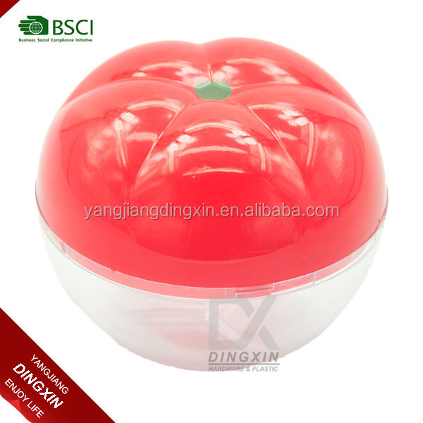 New Arrival Food Grade Material Plastic Apple Shaped Candy Box