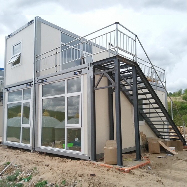 insulated demountable estate strong build real estate container house design
