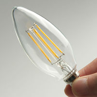 POSCN Candelabra LED Filament Light Bulb E14/E12 Warm DP3002-0006