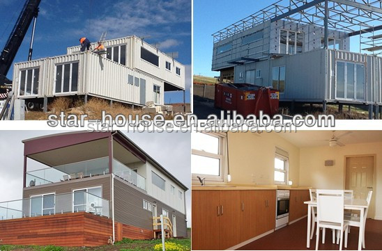 easy assembled prefab manufactured home as shop/hotel/apartment/workshop/office