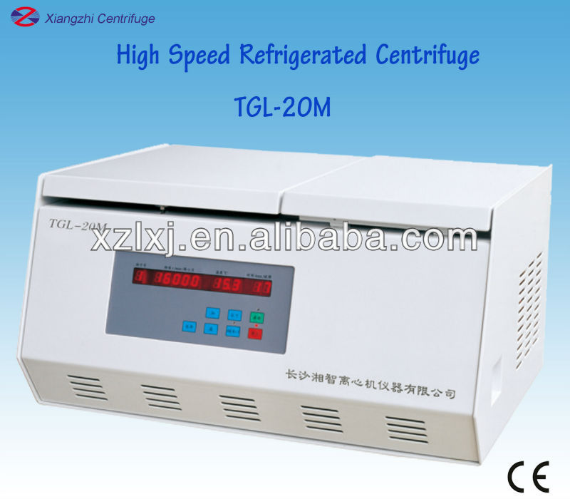 Clinical Laboratory Equipment High Speed Refrigerated Centrifuge TGL-20M