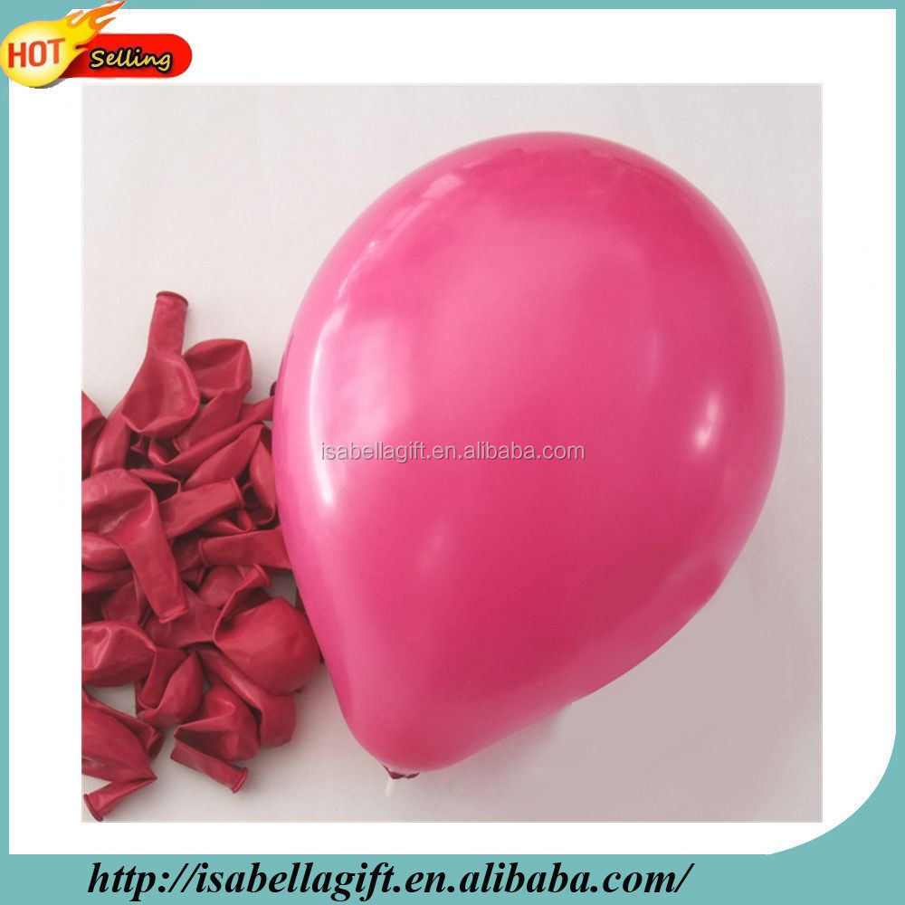 Each shop hot sell 10 inch rose latex balloon with celebration time