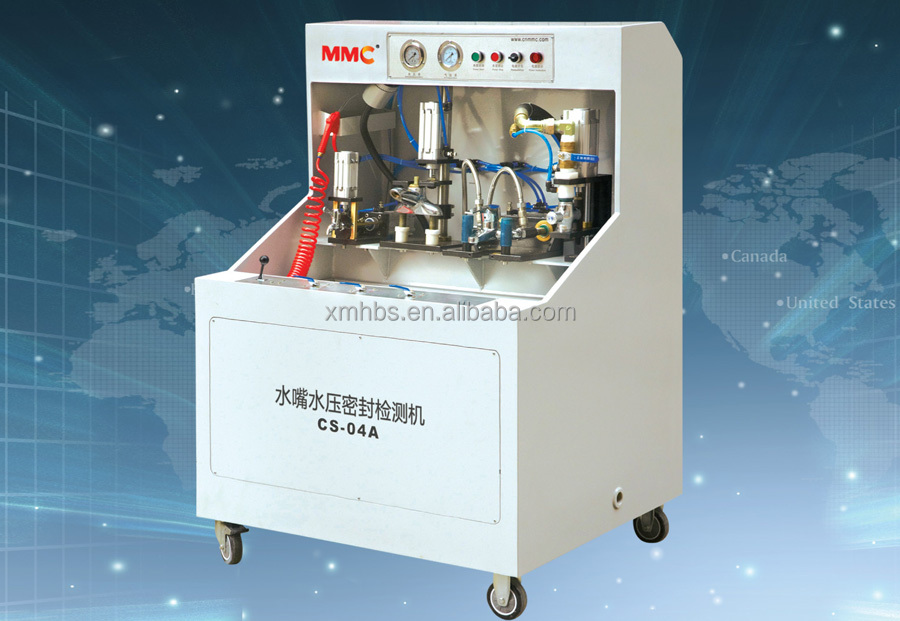 High quality water&air leak testing machine for sanitary products