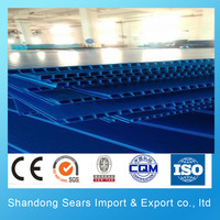 color coated corrugated sheet / aluminum sheet price