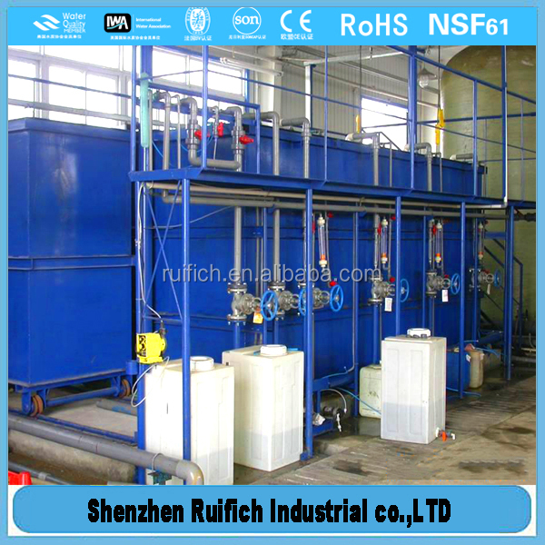 Promotiona sewage treatment system plant,river pollution solution,mbr microfiltration system / waste water treatment plant