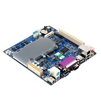 Order placed mainboard with integrated processor Intel Atom ITX2550 CPU with 8*usb 2* RJ45 port 6*com 1*LPT