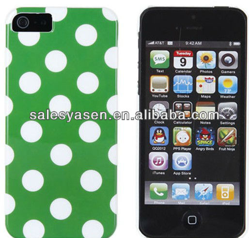 Plastic stand waterproof case for iphone 5
