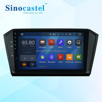 Wholesale price Android 5.1.1 Quad core Car Radio for 1 din Volkswagen Passat B8 with OBD 16G 1024*600