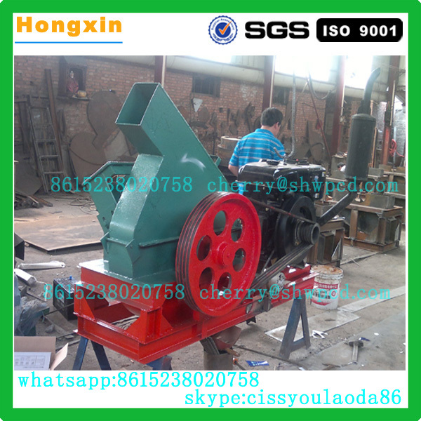 Wood shredding machine PTO wood chipper wood shredder