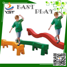 New arrive plastic balance beam playset toys for children