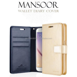 goospery mansoor wallet diary case cover , mercury case cover for Xiaomi redmi note 3 hongmi note 3
