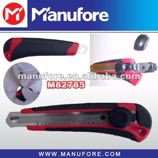 Coring comfort grip double blade utility knives