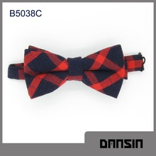 Fashion Design High Quality Cotton Men Glow Bow Tie