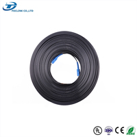 4 core FTTH indoor outdoor G657A FRP fiber optic drop cable