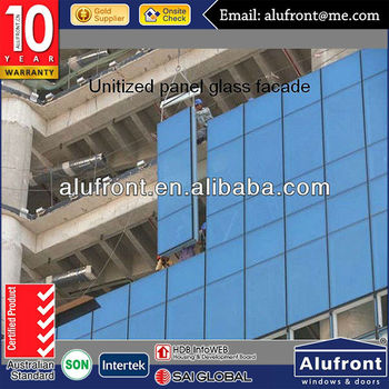 US certified and Australian certified Customized ALUMINUM UNITIZED CURTAIN WALL AND ENGINEERING