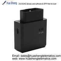 vehicle tracking system with 2 ways communication [2G, 3G, 4G] support bluetooth