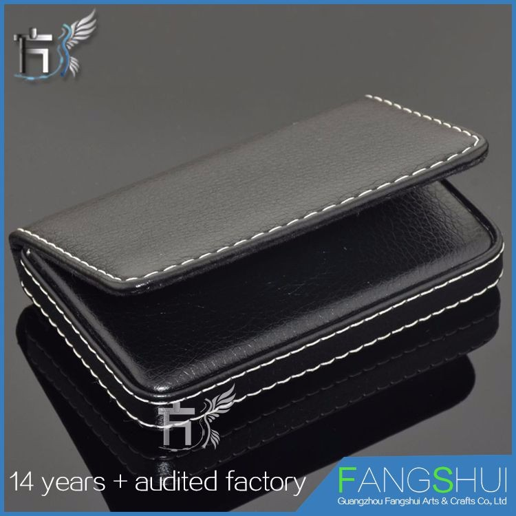 Latest design high quality real cow leather wallet case