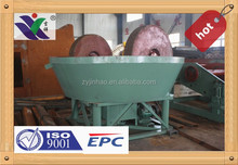 Grinding Wet Pan Mill Machine Used to Separate Silver