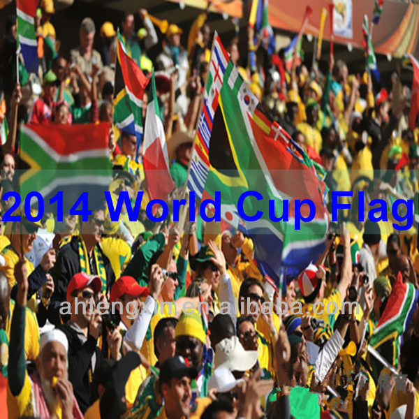 Customized World cup high quality soccer flag