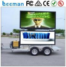 led mobile advertising trucks Leeman 2015 small truck led display screen